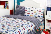 Cars bedding queen size/kids bed/bed cover set/sheets for ...