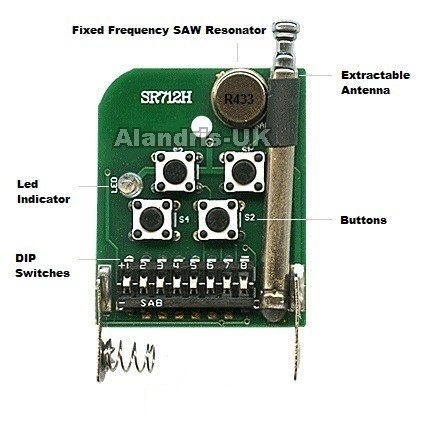 remote control Duplicator 433,92Mhz fixed code cloning remote  CAME,PROTECO,DASPY,FAAC,BENINCA,WENSHING,TAU,DEA,CASIT,RIB