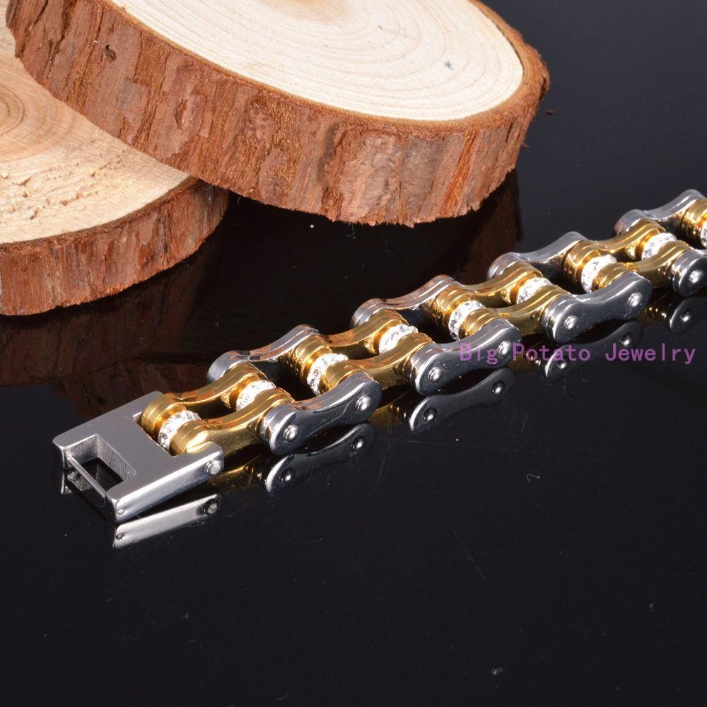 6df7b6d537d4 ᑎ‰98 г высокое качество цвет серебристый, золотой тон CZ 316L ...