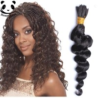 Human Braiding Hair Bulk 7A Brazilian Virgin Hair Loose