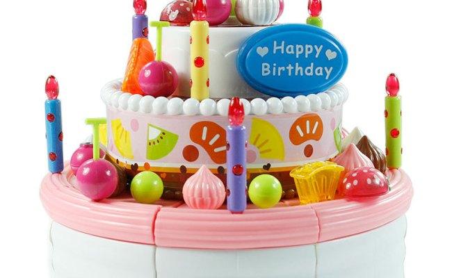 Music Birthday Cake Toys Discount Toys Girls Child Pretend