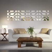 Mirrored Wall Decals - mirror wall art stickers xx ...