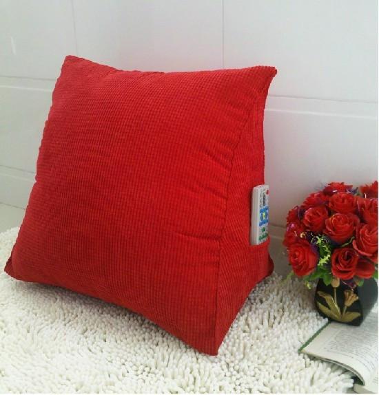 office chair lumbar support flip sleeper triangular pillow /car seat cushions for back pain/office ...
