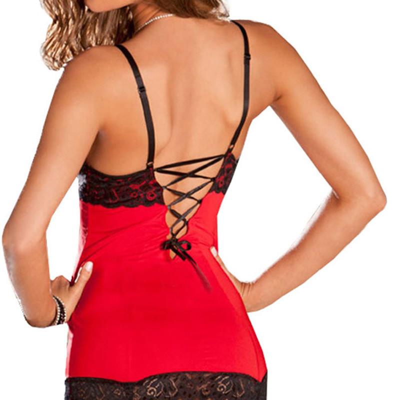 Sexy-Lingerie-Dress-Babydoll-Sleepwear-Underwear
