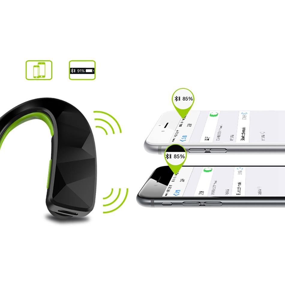 2016 ספורט אוזניות Bluetooth סטריאו אטמי אוזניים 4.1 אלחוטית Bluetooth אוזניות מתכוונן לולאת אוזן Ear-Hook אוזניות