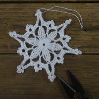 Popular Crochet Snowflakes Ornaments