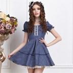 Cute Short Sleeve Plus Sizes Casual Summer Dresses