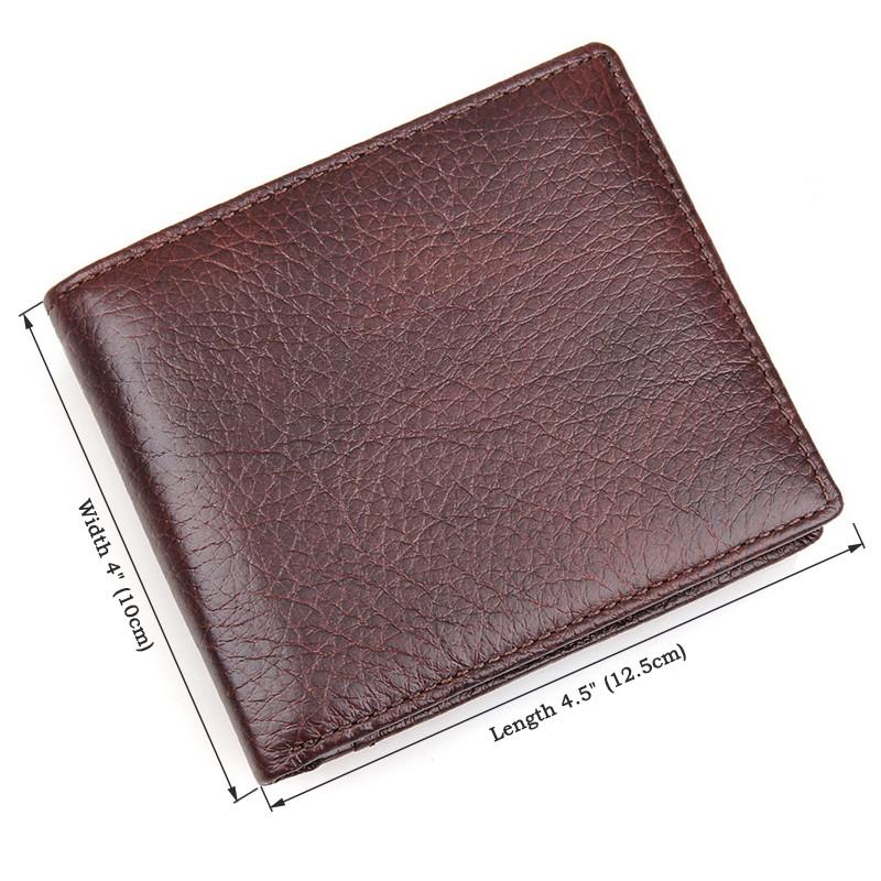 efc9faa1c35e8 ⓪J.M.D Tanned Leather Wallet Card Case For Men Billfold Wallet ...
