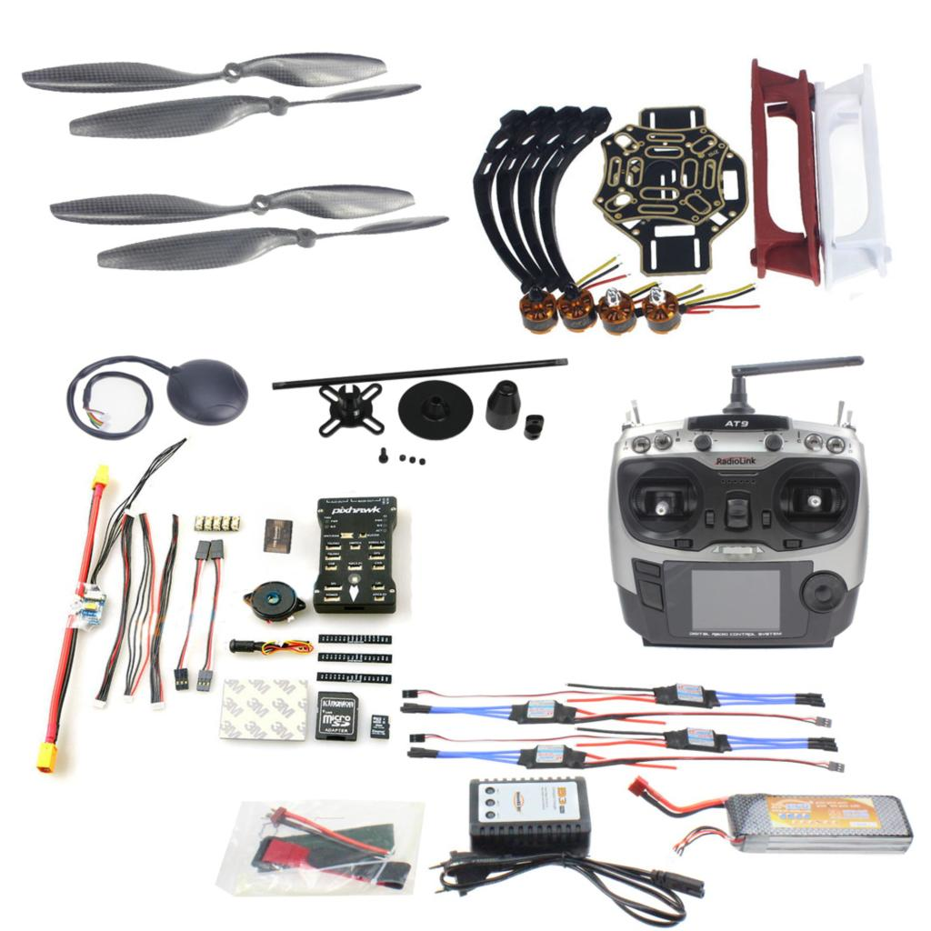 JMT DIY FPV Drone Quadcopter 4-axle Aircraft Kit 450 Frame
