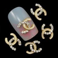 10pc Perfume Rhinestone 3d Nail Art Decorations,Alloy Nail ...