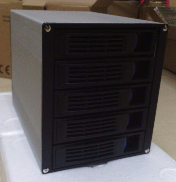 ᓂАлюминий SAS коробка компьютерный корпус жёсткий диск 5 ...