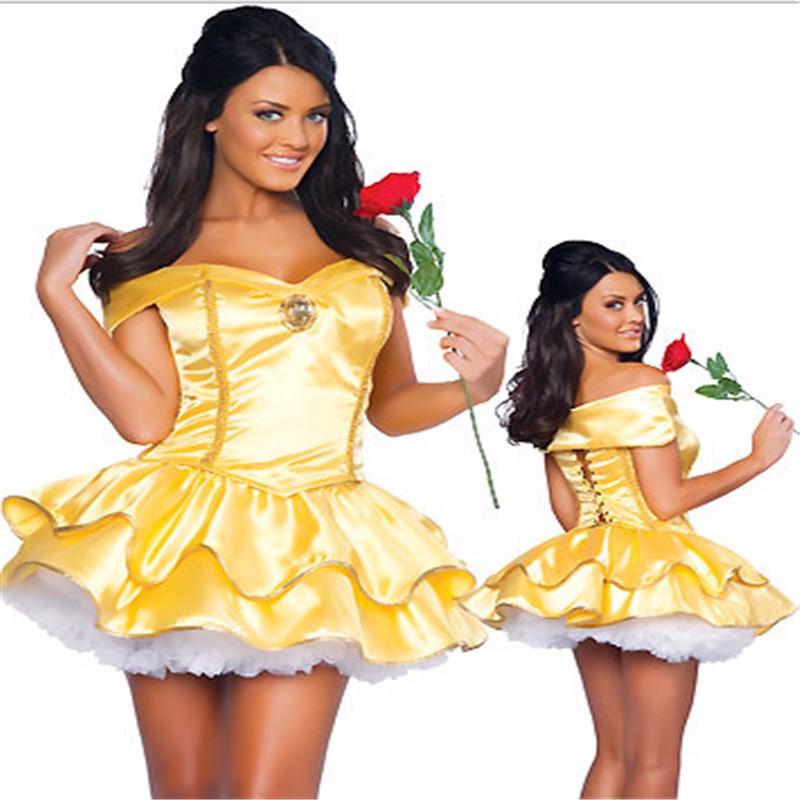 ①2018 latest Plus Size High Quality Adult Snow White Princess