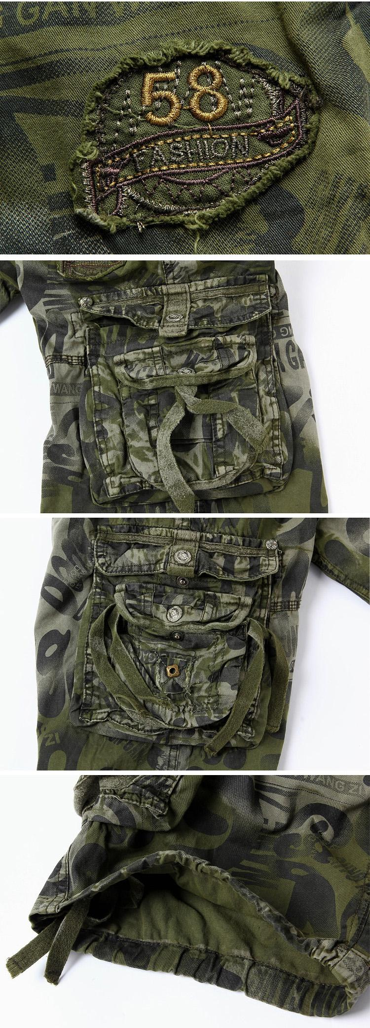 Summer Style Military Shorts Men Loose Casual Cargo Niion Hipbag Camo Navy Getsubject Aeproductgetsubject