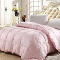 Twin Queen Full King Size Pink Color 50% Goose Down ...