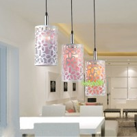 Modern Hollow flower Pendant Lights Suspension lamp