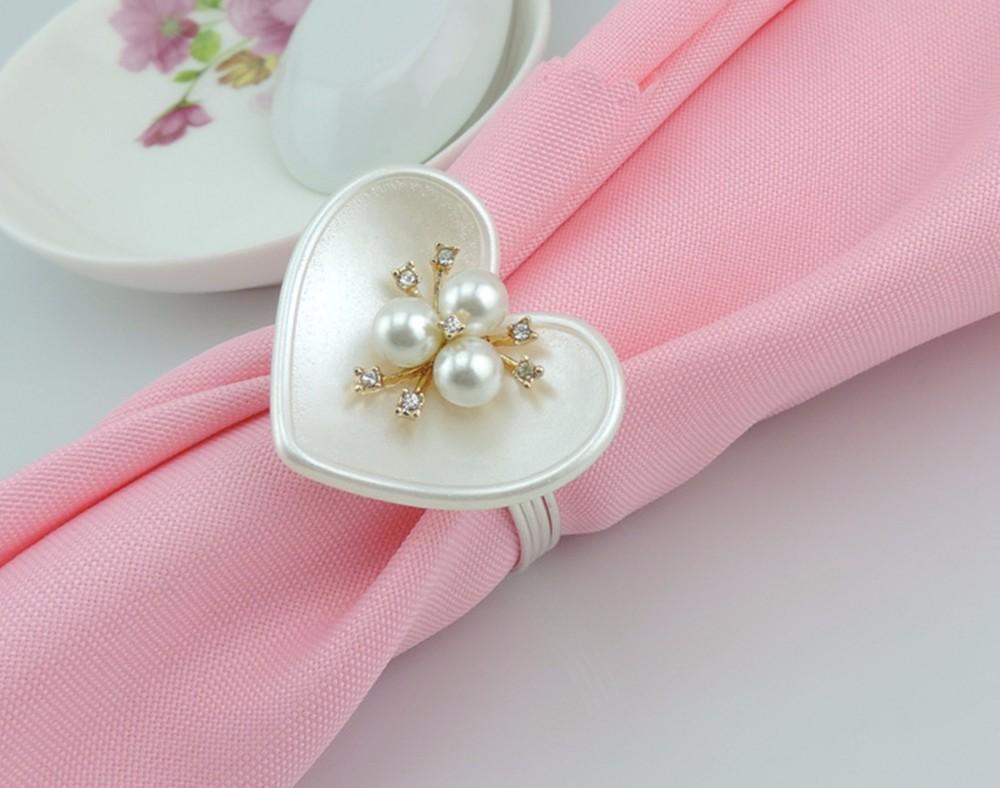 Ξ12pcs/lot European-style hotel banquet napkin ring napkin buckle ...