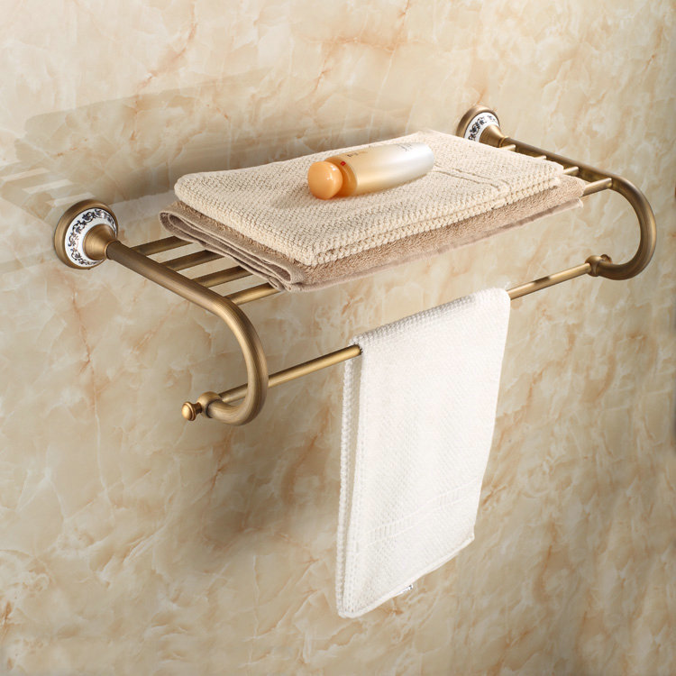 Wall Mounted Bathroom Towel Rack