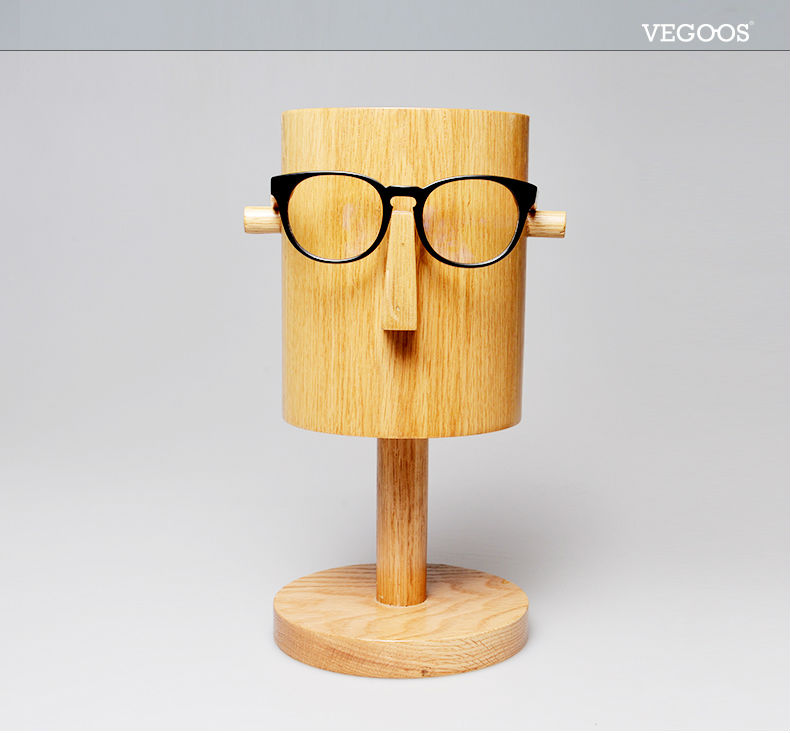 0f765a14cc0 VEGOOS Brand Designer Handmade Woody Computer eye glasses frames eyeglasses  optical frame clear lens