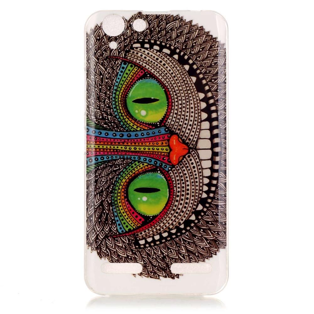 Nfor Lenovo K5 Fundas Case Cartoon Pattern Tpu Phone For Flower Xiaomi Redmi Note 1 2 Silicone Diamond Soft Softcase Plus Plastic Cover Back Skin Bag