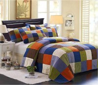 S&V American country style bedding sets cotton bedspreads ...