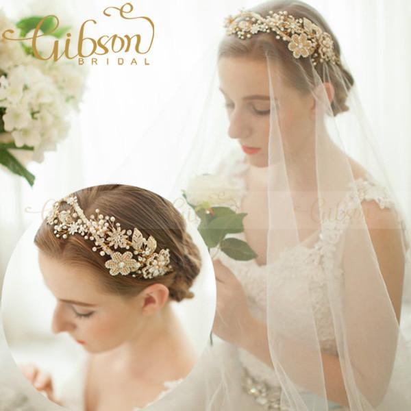 NºEnvío gratis Regal cristal y diadema flor de boda tocados de novia ...