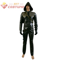 Green Arrow Oliver Queen Man Cosplay Costume Full Set Custom Made Free Shipping