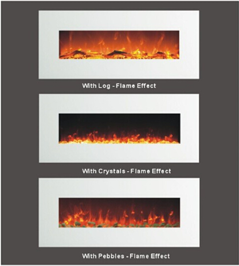 Decor Flame Media Electric Fireplace For Tvs Up To 65 Espresso