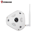 ZGWANG 360 Degree VR Panorama Camera Home Security IP Camera 3MP HD Night Vision Webcam CCTV