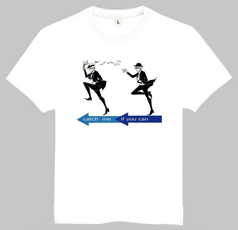 a433efe1c ̿̿̿(•̪ )ATRÁPAME SI PUEDES manga corta Camiseta blanca Atrápame si ...