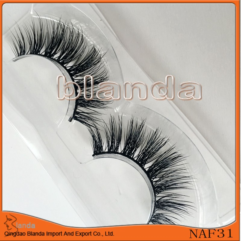 Blanda Natural Mink Eyelashes 3d Thick Mink Hand Made Ups Free Shipping 100pairs Flase Eyelashes Full Strip Lashes China Vendor To Be Distributed All Over The World Beauty Essentials False Eyelashes