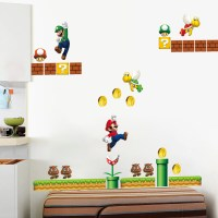 Popular Mario Wall Stickers-Buy Cheap Mario Wall Stickers ...