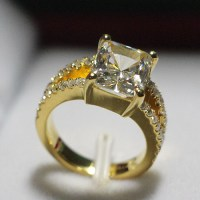 Gold Promise Ring For Women
