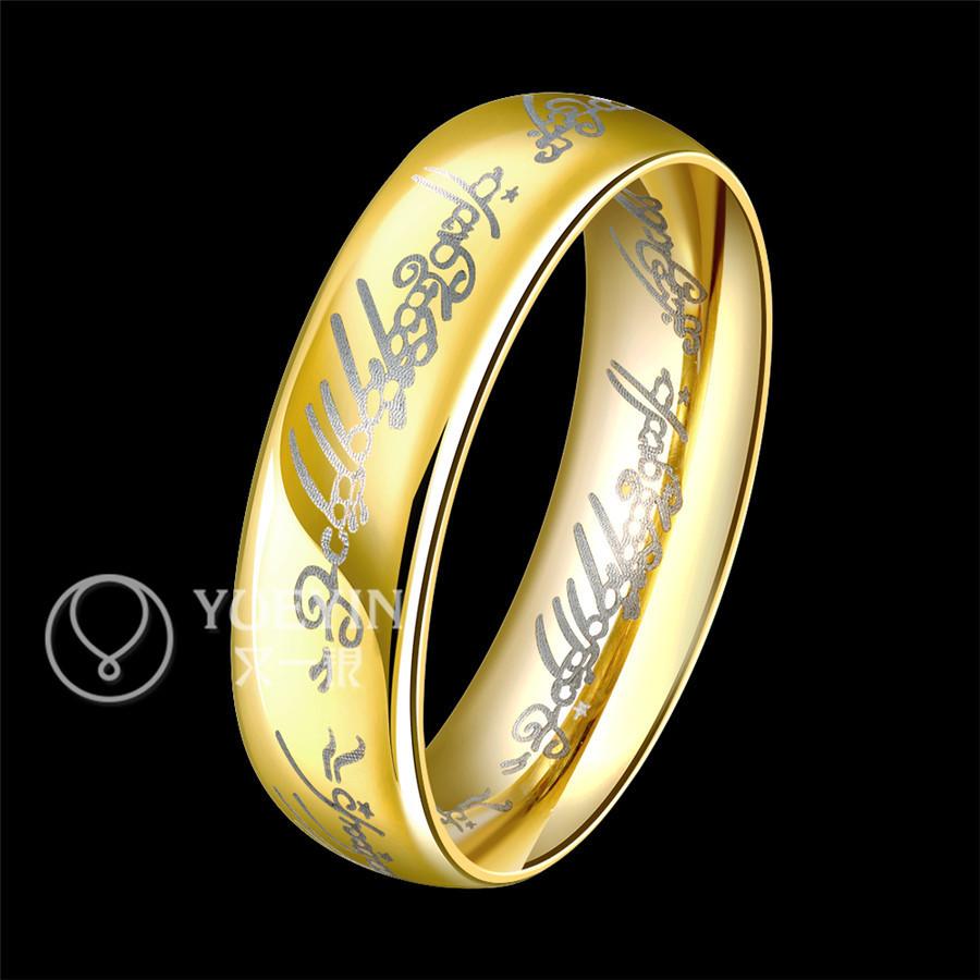 Mode 2015 verkauf Gravur gold ring acessorios mnner ringe