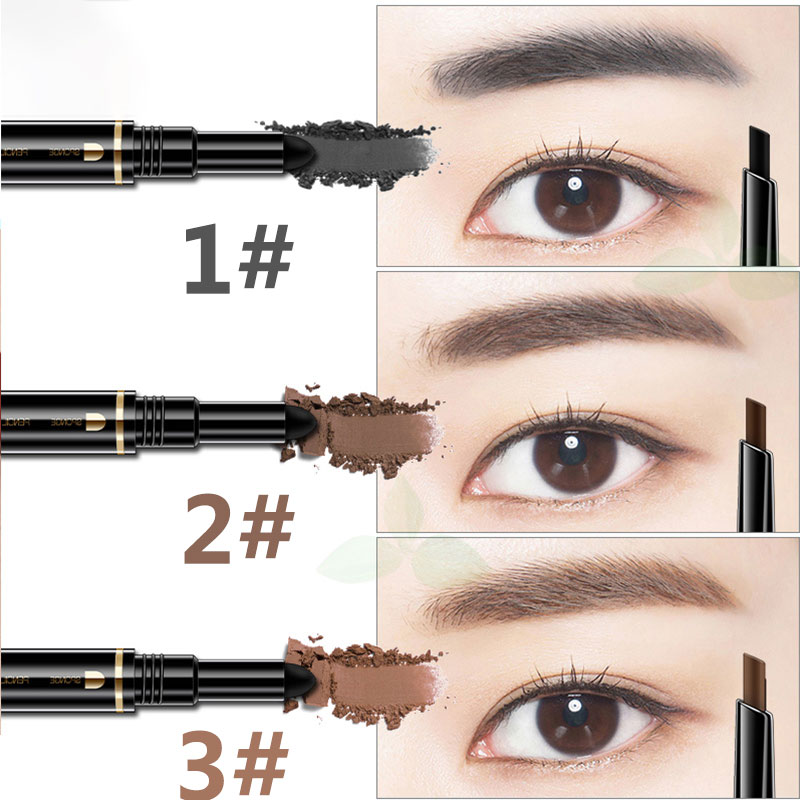 Meiyanqiong Henna Tatto Eyebrow Pencil For Women 2 Ended Waterproof