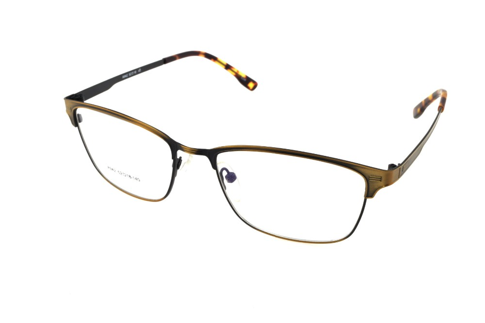 ②Aleación de titanio latón color Gafas Marcos óptico por encargo ...