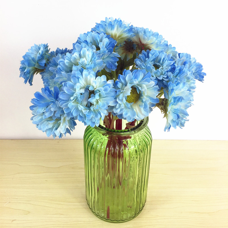 indigo souci 10 pcs mini daisy bouquet de fleurs bouquets de fleurs en soie de mariage. Black Bedroom Furniture Sets. Home Design Ideas
