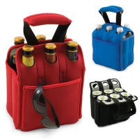 Neoprene Water Bottle Holder, Insulated Beer Carrier for ...