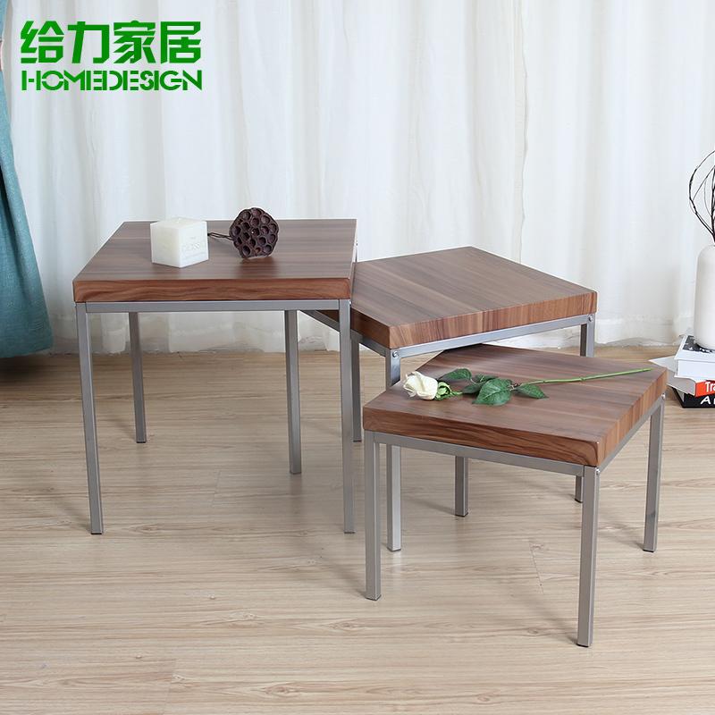 Creative coffee table coffee table small apartment a few three piece sofa side corner a few