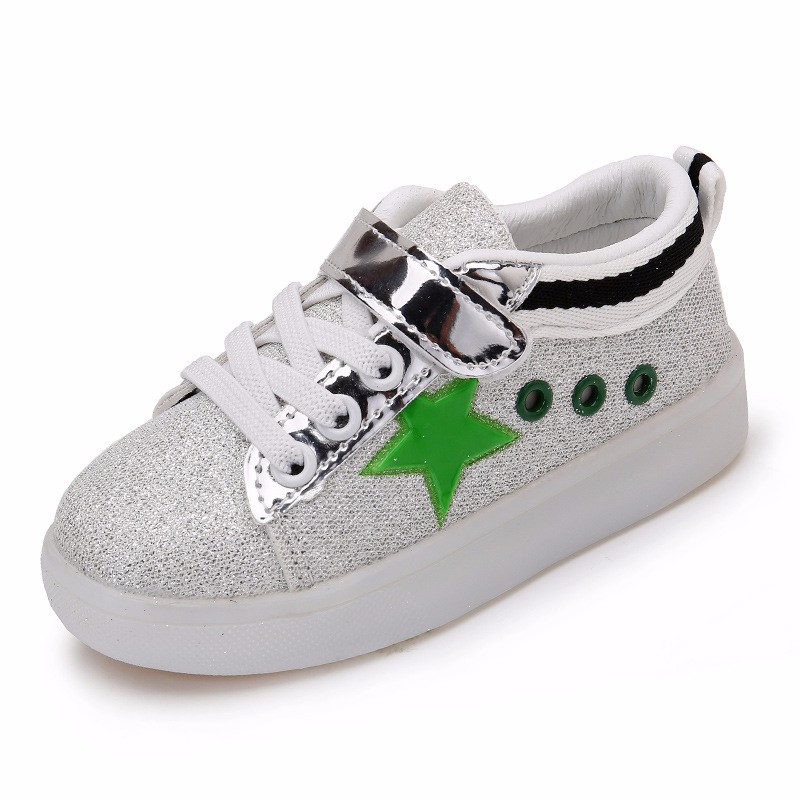f05433fdb5 ⑦Kids Casual Shoes Boys Girls Loop Solid Color Sneakers Baby ...