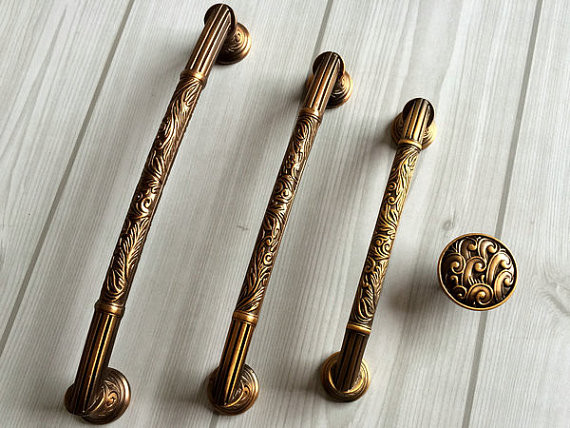 il_570xN.765769461_rtfz ... - ₪Dresser Pull Drawer Handles Pulls Knobs Antique Brass Kitchen
