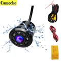 18 5mm Car Backup Camera HD Color Reverse Rear View Cameras 8 LED Night Vision 170