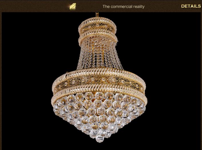 Moderne Lampen 19 : Eisen kristall kronleuchter moderne kreative restaurant