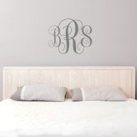 Aliexpress.com : Buy Monogram Wall Decal Initial Wall ...