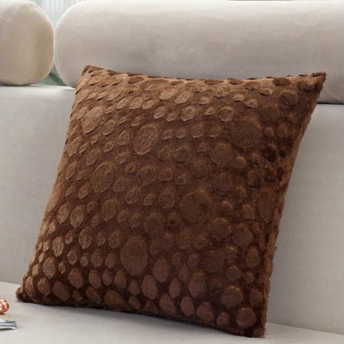 Home Supplies Super Soft Comfortable Short Plush Square Sofa Cushion Cover Throw  Pillow Case Decorbox
