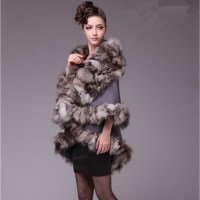 Online Buy Wholesale fur trimmed shawl from China fur ...