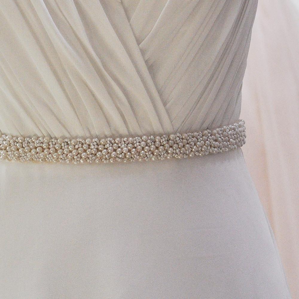 1x Sash belt. 2cm 1 S204 S204-. Production process. TOPQUEEN FREE SHIPPING  S325 Crystal Wedding Belts Rhinestone ... 428418b76288