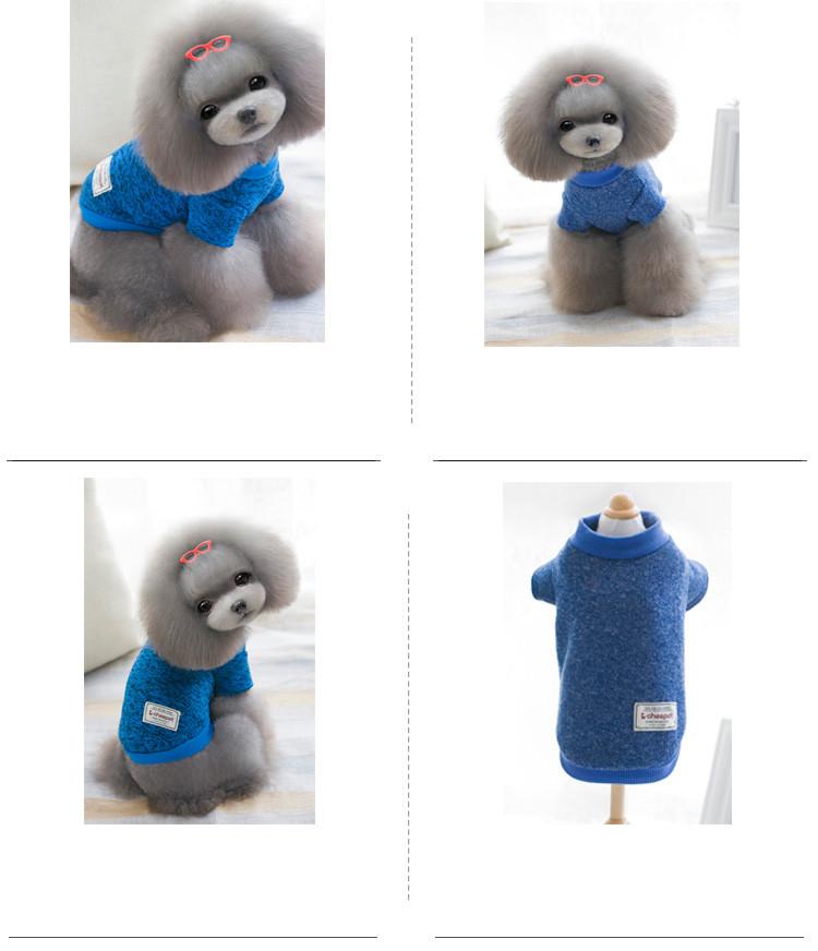 ⑦Ocio Suéteres mascotas ropa para perros gato de peluche Perros ...