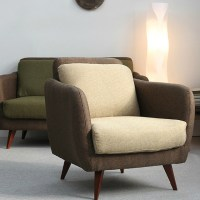 IKEA simple Japanese style fabric sofa small apartment ...