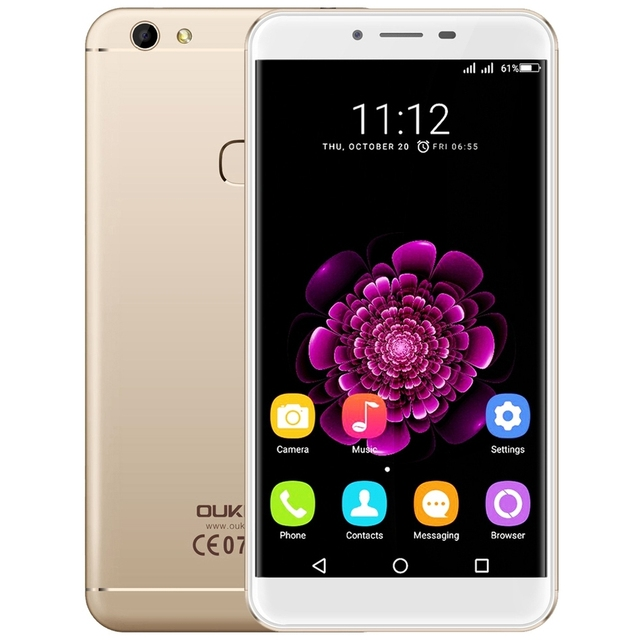 Original Oukitel U15S 5.5''Smartphone Android 6.0 MT6750 Octa Core 4GB+32GB 13.0MP 1920x1080 FHD Fingerprint ID 4G FDD Cellphone