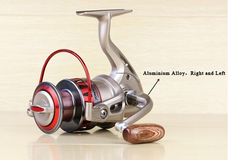 Fishing reel Heavy Duty Sac 10 Fly 6 Spinning réglable moulé fermetures éclair Nouveau
